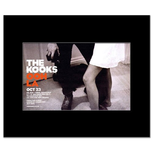 KOOKS - Ooh La Matted Mini Poster - 22.8x14cm