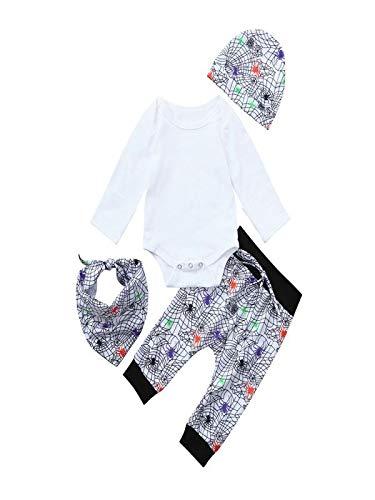 Yesmile Kinder Halloween Kleidung Langarm T-Shirt + Streifen Hosen Bekleidung Kinder Neugeborene...