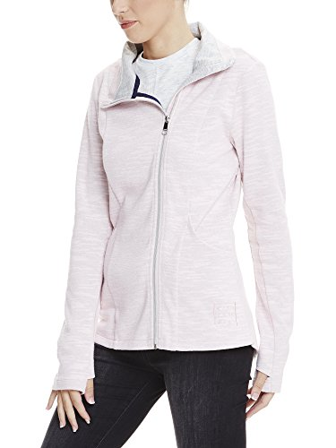 Bench Long Zip Jacket, Cardigan Donna Rosa (Pink PK11197)