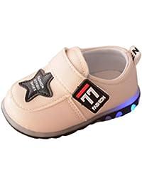 K-youth® Zapatos deportivos otoñales Luces LED Zapatillas Bebé Zapatos Bebe Recién Nacidos Niña Niño Cuna Suela Blanda Antideslizante Casual Calzado De Deportes