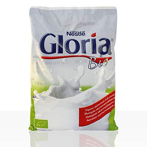 Nestlé Gloria Bio Magermilchpulver, Automaten-Topping, Beutel, 500g