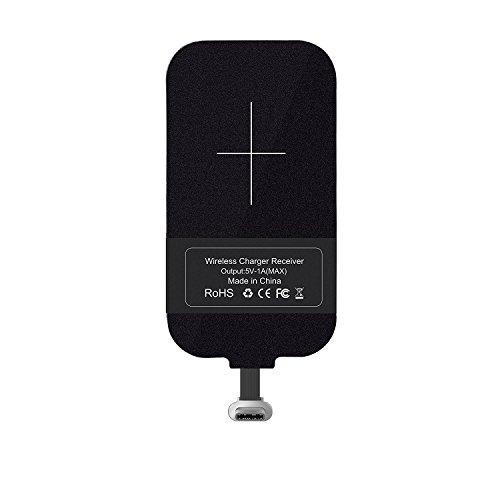 Typ C Wireless Ladegerät Empfänger, Wireless Charging Receiver, Nillkin Magic Tag USB C Qi Wireless Ladegerät Receiver Chip für Google Pixe / Nexus 6P und andere kleine Größe USB-C-Telefone