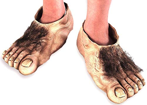 Hobbit Füße von Herr der Ringe - Ruby Hausschuhe Kostüm