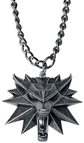 The Witcher Médaillon La Chasse Sauvage Collier Couleur Argent