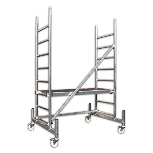 ALTEC Rollfix 300, Arbeitshöhe 3 m neu, inkl. Rollen und Fahrtraverse, TÜV-geprüft