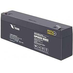 VISION CP1223 SMF VRLA 12V 2.3Ah Battery (Black)