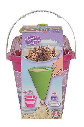 Simba 107114091 Eimerset 15 Cup Cake 8-TLG, Mehrfarbig