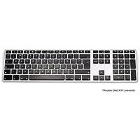 Matias Tastatur AZERTY Hintergrundbeleuchtung Bluetooth, Mac/PC/iOS/Android