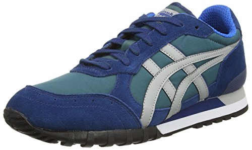 Onistuka Tiger - Colorado Eighty-Five, Sneakers Basse da unisex - adulto, verde (dark green/light grey 8013), 41.5