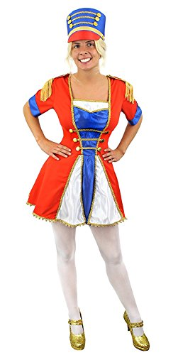 I love Fancy Dress ilfd4557s + Hat Damen Toy Soldier Kostüm (klein)