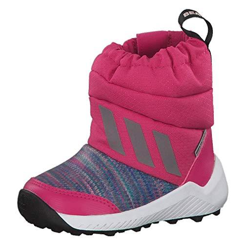 adidas Unisex Baby Rapidasnow BTW I Stiefel, Mehrfarbig (Magrea/Refsil/Ftwbla 0), 19 EU