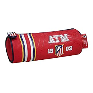 Portatodo Atletico Madrid 1903 cilindrico Bordado