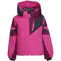 Killtec Mädchen Cully Mini Skijacke/Funktionsjacke mit Kapuze und Schneefang, Grow up Funktion - Kindermode die mitwächst