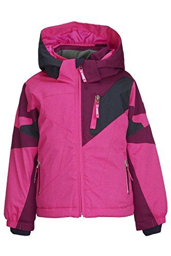 Killtec Mädchen Cully Mini Ski Funktionsjacke, neon pink, 98/104
