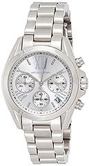 Idea Regalo - MICHAEL KORS Orologio Cronografo Quarzo Donna con Cinturino in Acciaio Inox MK6174