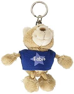 NICI n15869-Llavero Oso con Camiseta Fabio, Azul
