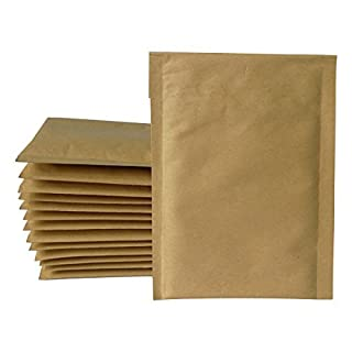 Kraft Bubble Mailers 5x7 (Usable Space 4.2