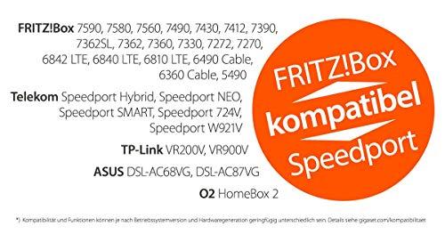 Gigaset S850HX Telefon – Schnurlostelefon / Universal Mobilteil – mit Farbdisplay – Dect-Telefon –  schnurloses Telefon – VoIP – Router – kompatibel –  platin - 6
