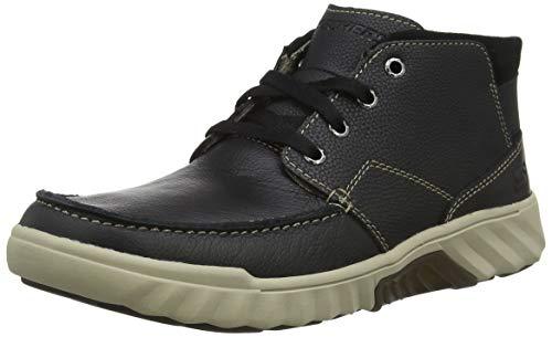 Skechers Herren Ryler-Mobert Chukka Boots, Schwarz (Black Blk), 44 EU -