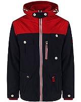 Soul Star Mens Fleece Lined Hooded Jacket
