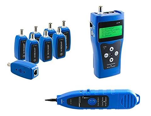 KALEA-INFORMATIQUE © - Testeur Professionnel Réseau RJ45 RJ11 USB BNC