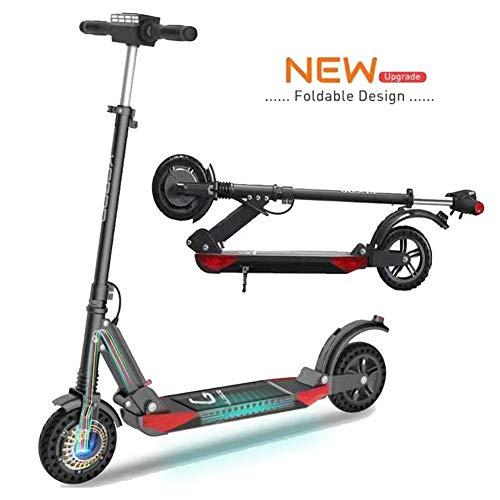 FUTERLY Patinete Eléctrico Plegable, KUGOO S1 Pro E Scooter, 7.5AH 350W Pantalla LCD 3 Modos de Velocidad 8 Pulgadas sólido...