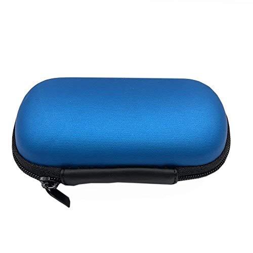 Reisetasche für SnapECG tragbare EKG EKG Monitor Handheld EKG Pulsmesser - hält das Gerät sicher und sauber (schwarz)