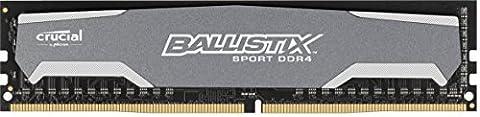 Crucial Ballistix Sport 4 GB DDR4 2400MT/s UDIMM 288-Pin