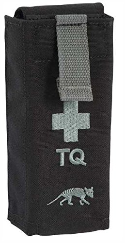Tasmanian Tiger TT II Tourniquet Pouch, Black, 12 x 7 x 2,5 cm - Molle Pouch Medical