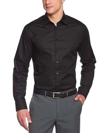 Schwarze Rose Herren Hemd/ Business 22900, Gr. 37 (S), Schwarz (schwarz 39)