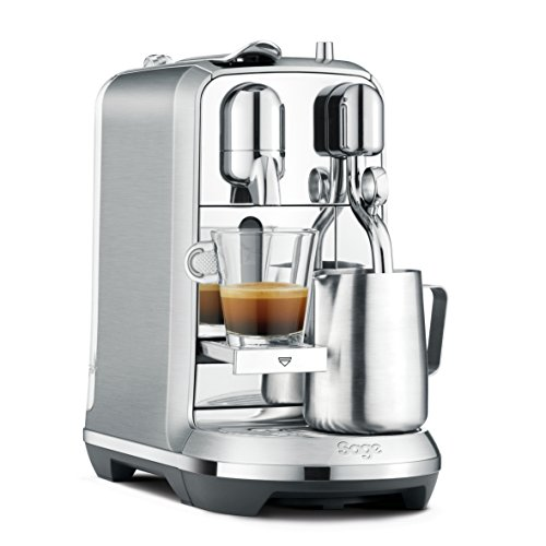 Nespresso Creatista Plus Coffee Machine, Silver by Sage