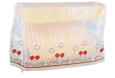 Wenko 5827091100 Schutzhülle Wiese für Hollywoodschaukel - Kunststoff, 213 x 152 x 145 cm, transparent