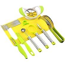 Conjunto de herramientas de forma de guarnición comestible de frutas