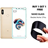 Original Tempered Glass For REDMI NOTE 5 PRO - WOW Imagine (Buy 1 Get 1 Free) Unbreakable Nano Film Glass [ Better Than Tempered Glass ] Screen Protector For Huawei XIAOMI MI REDMI NOTE 5 PRO