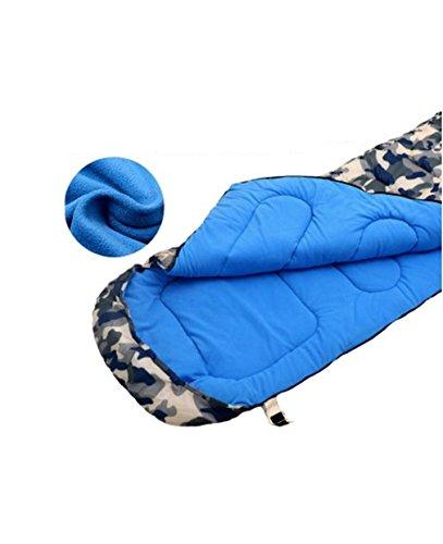 Nola Sang Adult Schlafsack 4 Seasons Sleeping Sack Lightweight Portable wasserdicht für Camping, Wandern & Outdoor Aktivitäten. , B