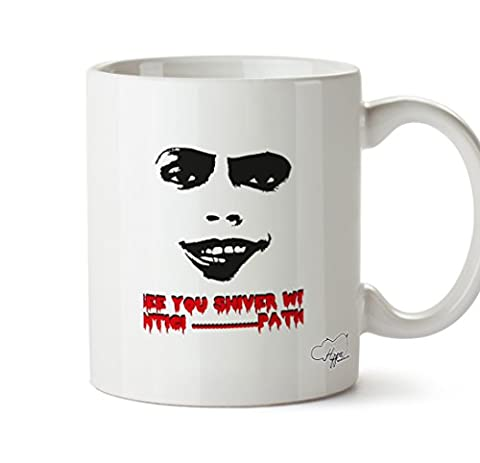 Hippowarehouse I See You Shiver avec Antici... Pation. Frank. N Furter Silhouette 283,5 gram Mug Cup, Céramique, blanc, One Size
