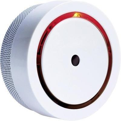 m-e modern-electronics RM-810 20570 Rauchwarnmelder inkl. 10 Jahres-Batterie, Mini batteriebetrieben