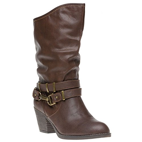 Rocket Dog Swindon Damen Stiefel Braun Braun