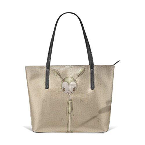 Mode Handtaschen Einkaufstasche Top Griff Umhängetaschen Women's Stylish Casual Tote Bag Travel Bags - Alien Shoulder Bags (90er-jahre-alien)