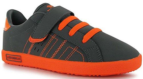 Lonsdale , Jungen Sneaker One Size Grau / Orange