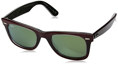 Ray-Ban UV Protected Square Unisex Sunglasses (0RB214012022X50|50|Green) image