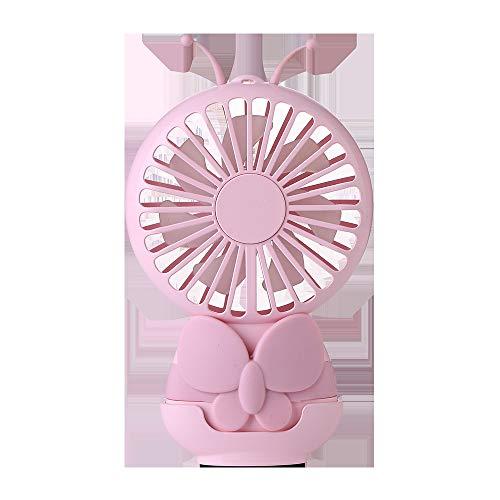 Schmetterling Fan Cartoon Student USB Lade Fan Licht Outdoor Mini tragbare Handheld kleine Fan