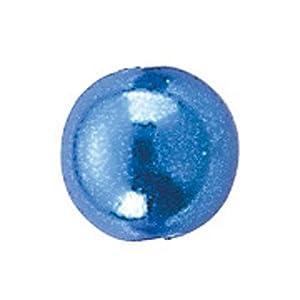 Gütermann / KnorrPrandell 6086357 - Cuentas de 3mm Azul, 125 Piezas / Bolsa Importado de Alemania