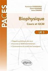 Biophysique Cours & QCM UE3