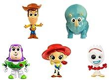 Disney Pixar Toy Story 4, Coffret 5 Mini-Figurines, Jouet Miniature pour Enfant, GDL64