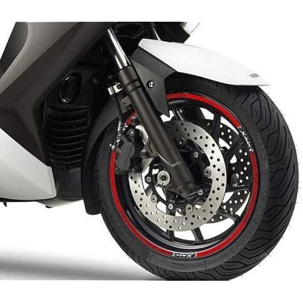 Adhesive Strips Kit Für Kompatible Felgen Für Yamaha X Max Roller Xmax 125 250 Auto