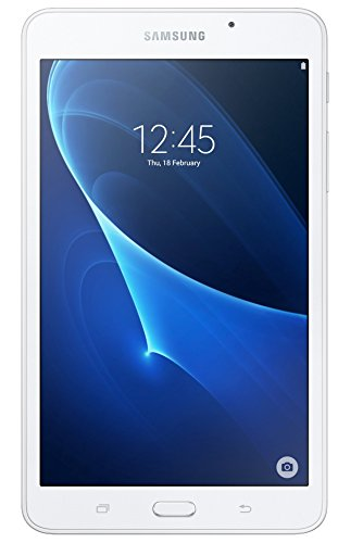 Samsung Galaxy Tab A 7 Inch Wi-Fi Tablet, (White), (Spreadtrum 1.3 GHz, 1.5 GB RAM, 8 GB ROM, Android 5.1), UK Version