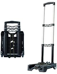 Carro de Equipaje portátil Plegable Compacto y Ligero para Llevar en el Equipaje de Viaje o