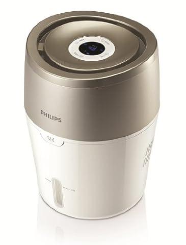 Philips Luftbefeuchter mit hygienischer NanoCloud-Technologie, HU4803/01 (Raumgröße bis zu
