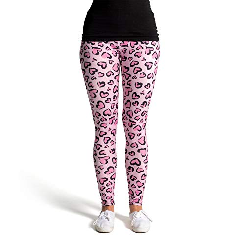 cosey - Leo Line Leggings - Animalprint - im Leopardenmuster Design 4 -